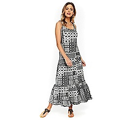 Wallis - Petite monochrome maxi dress