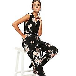 Wallis - Petite lily print jumpsuit