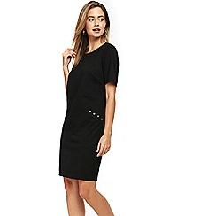 Wallis - Petite black stud dress