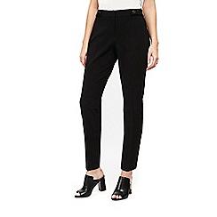 Wallis - Petites black luxe trousers