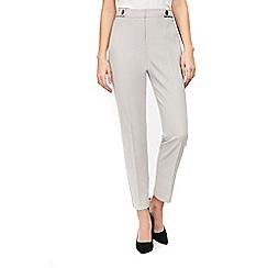 Wallis - Petites grey luxe trousers