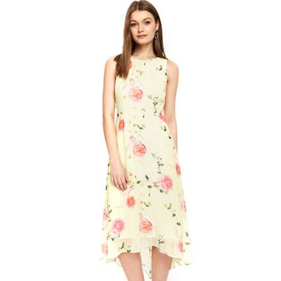 Wallis   Petite Lemon Floral Dress by Wallis