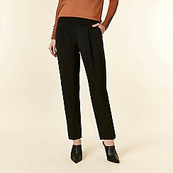 Wallis - Petite black tailored trousers