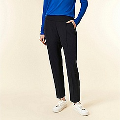 Wallis - Petite navy tailored trousers