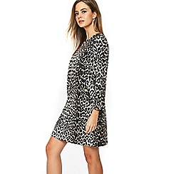 Wallis - Petite multicoloured animal print shift dress
