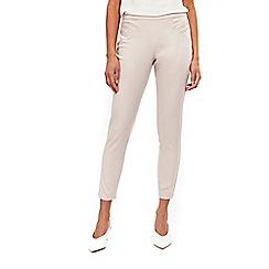 Wallis - Petite pale pink capri trousers