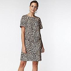 Wallis - Petite animal shift dress