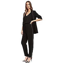 Wallis - Petite black embellished trouser
