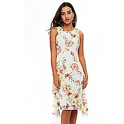Wallis - Petite floral embellished dress