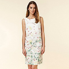 Wallis - Ivory Floral Shift Dress