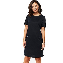 Wallis - Ink ponte stud dress