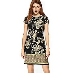 Wallis - Ochre paisley print tunic dress