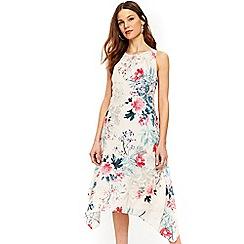 Wallis - Ivory floral print shift dress