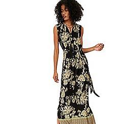 Wallis - Ochre paisley print maxi dress