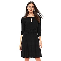 Wallis - Black fit and flare dress