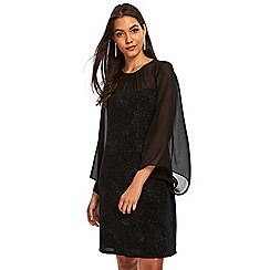 Wallis - Black star sparkle dress