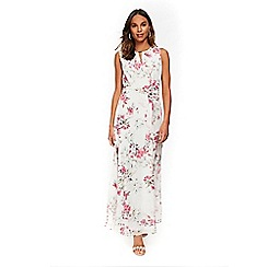 Wallis - Ivory blossom floral maxi dress