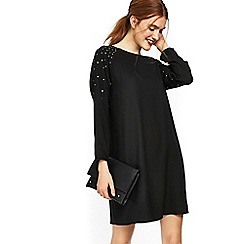 Wallis - Black hotfix stud shift dress