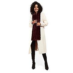 2127c760b03 Wallis - Berry teddy faux fur scarf