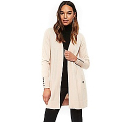 Wallis - Blush longline cardigan