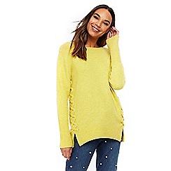 Wallis - Yellow knitted jumper