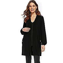Wallis - Black balloon sleeve cardigan