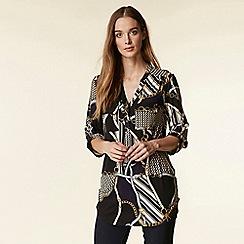 Wallis - Multicoloured chain print shirt