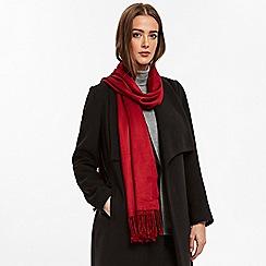 Wallis - Red pashmina scarf
