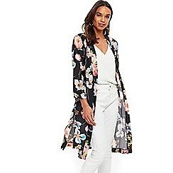 Wallis - Black floral jacket