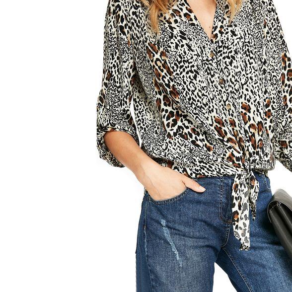 front Wallis shirt tie Animal Animal Wallis vvT1P