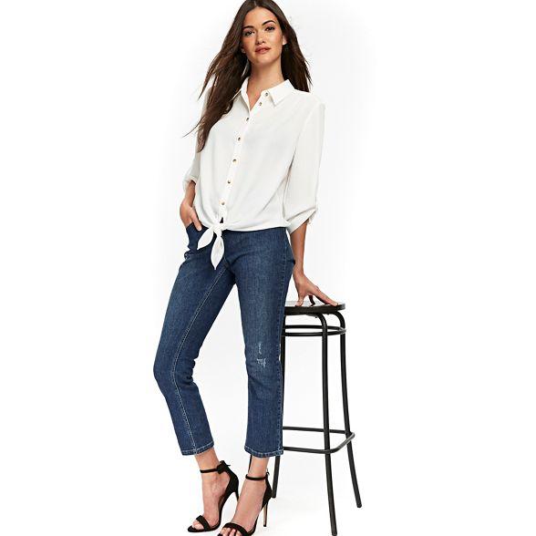 shirt linen Ivory look linen Wallis Wallis Ivory tx8IqYAww