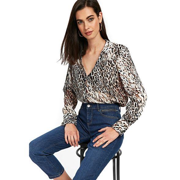 Wallis Wallis shirt shirt Wallis shirt Leopard Leopard Wallis Leopard rrHwES