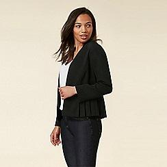 Wallis - Black Pleated Jacket