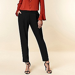 Wallis - Black tailored fit trousers