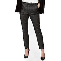 Wallis - Silver jacquard trouser