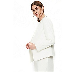 Wallis - Cream tailored blazer