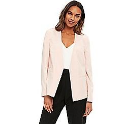 Wallis - Blush tailored blazer