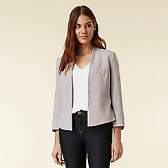Wallis - Grey cropped blazer