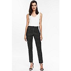 Wallis - Check slim trousers