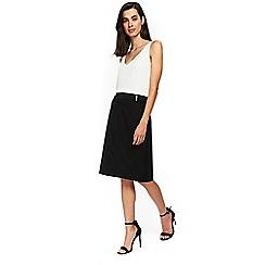 Wallis - Black pencil skirt
