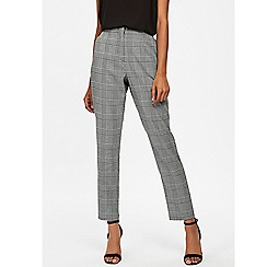 Wallis - Monochrome check tailored trouser