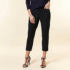 Wallis - Navy Cropped Trousers