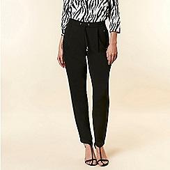 Wallis - Black Tailored Trousers