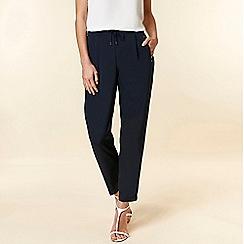 Wallis - Navy Tailored Trousers