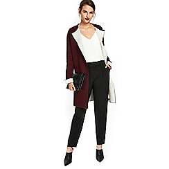 Wallis - Black piped pull on trouser