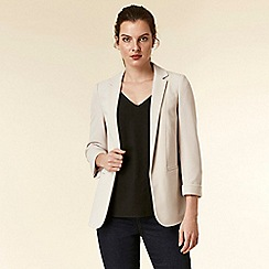 Wallis - Stone tailored fit blazer