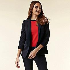 Wallis - Navy tailored fit blazer