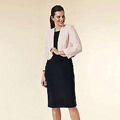 Wallis - Blush bolero blazer