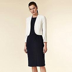 Wallis - Ivory bolero blazer