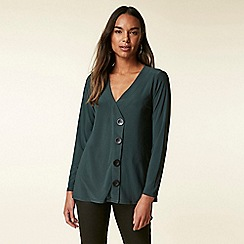 Wallis - Green button down top